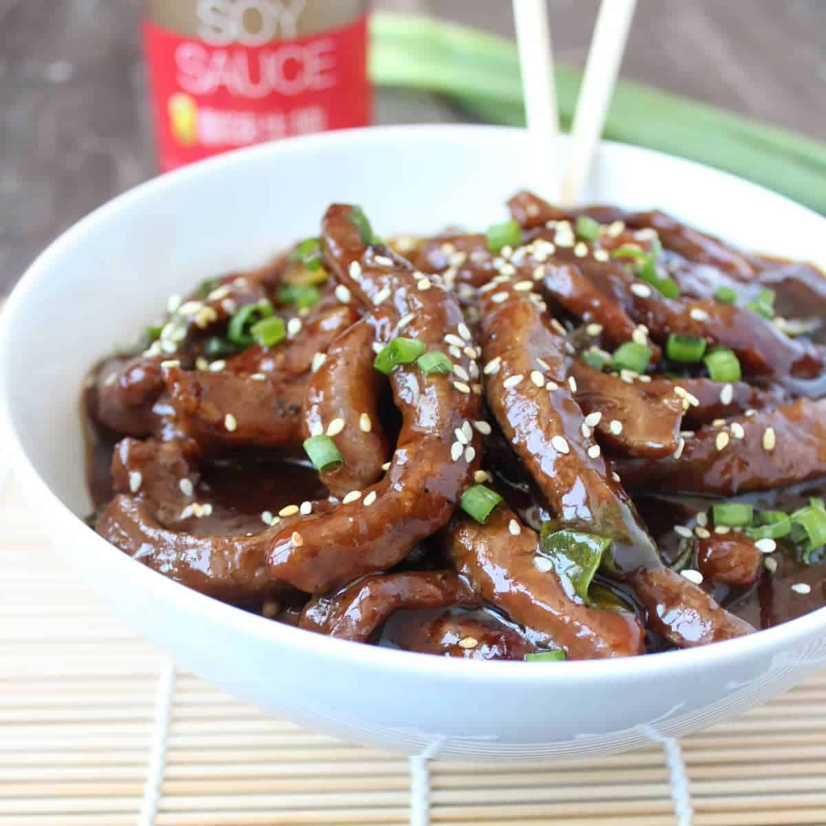 Korean bbq beef noodle bowl forumfinder Image collections