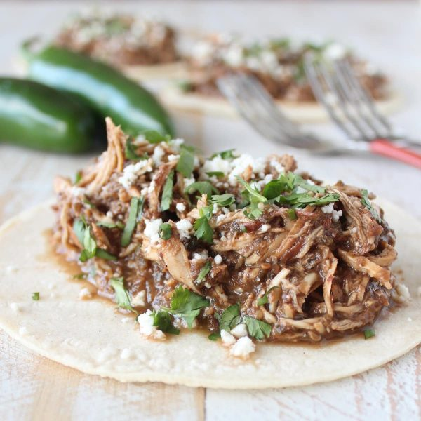 Easy Chicken Mole Taco Recipe