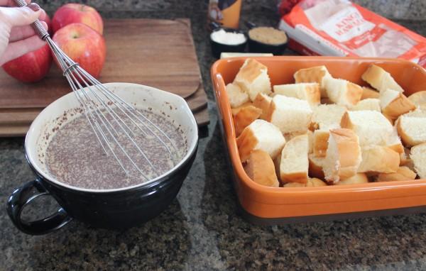 Caramel Apple Bread Pudding Recipe