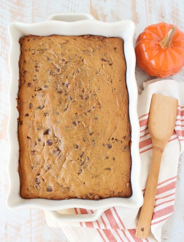 Pumpkin Brookies Recipe