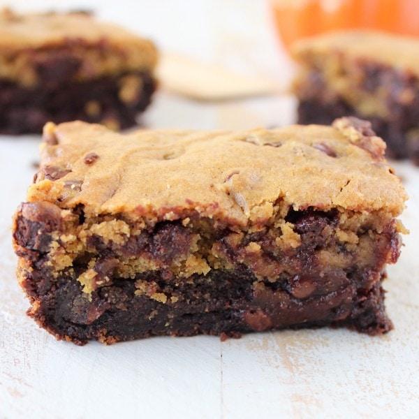 Pumpkin Brownie Cookies Recipe