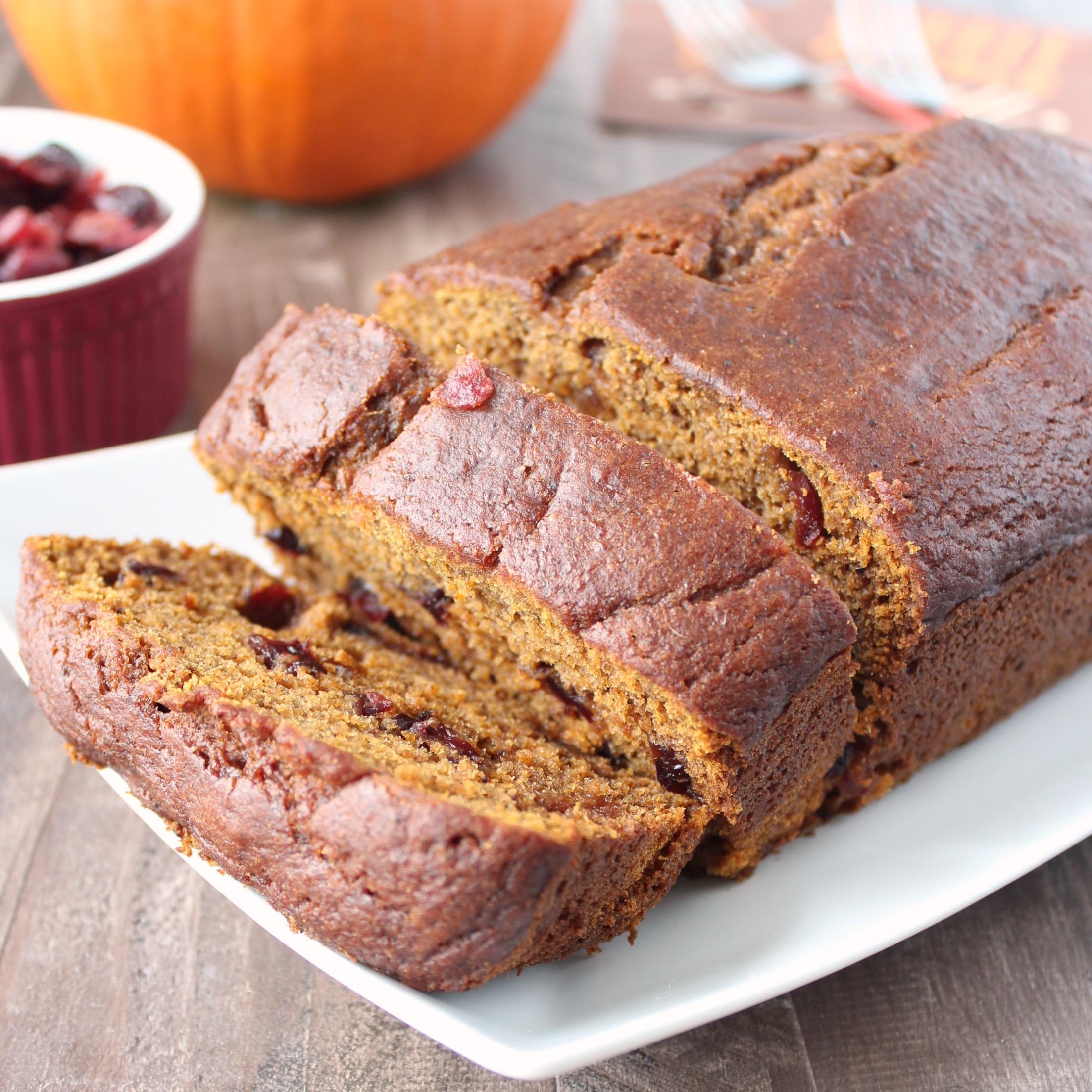 Cranberry Pumpkin Bread