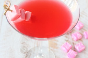 Pink Starburst Strawberry Martini Recipe