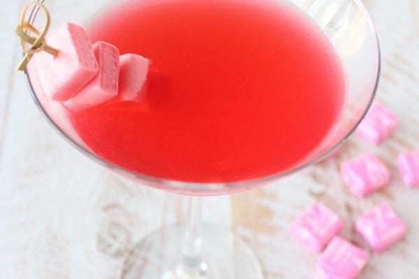 Pink Starburst Strawberry Martini Recipe