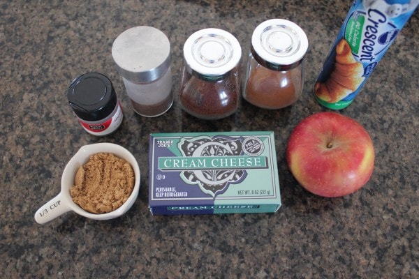 Apple Cinnamon Cream Cheese Danish Ingredients