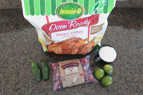 Oven Roasted Turkey with Cranberry Jalapeno Relish Ingredients