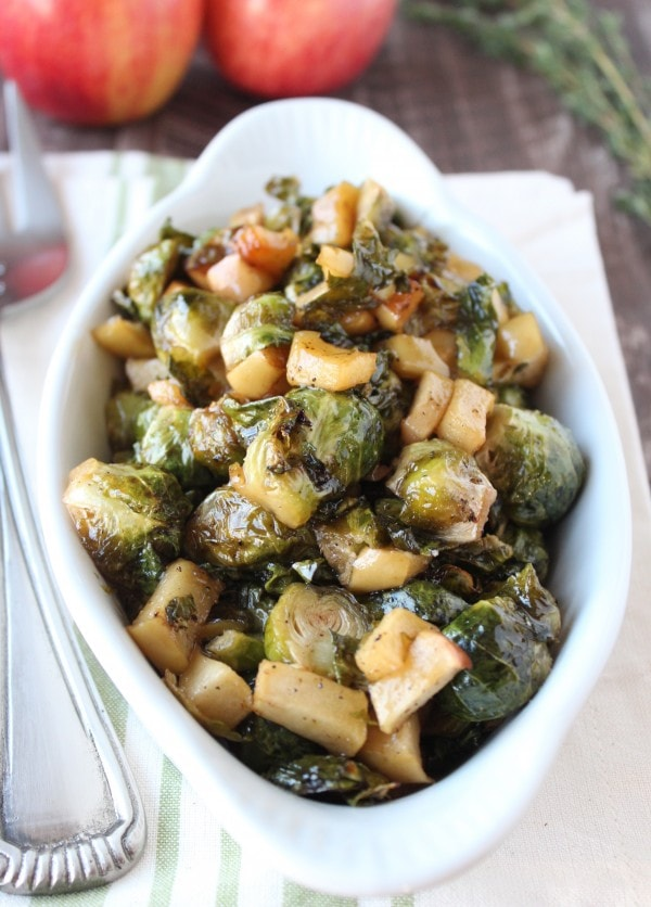 Maple Roasted Brussel Sprouts Recipe