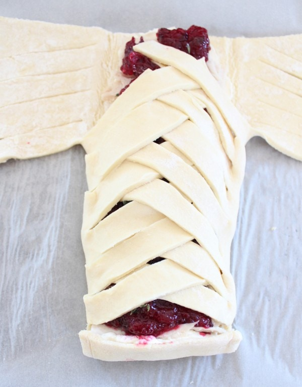 Cranberry Turkey Puff Pastry Recipe