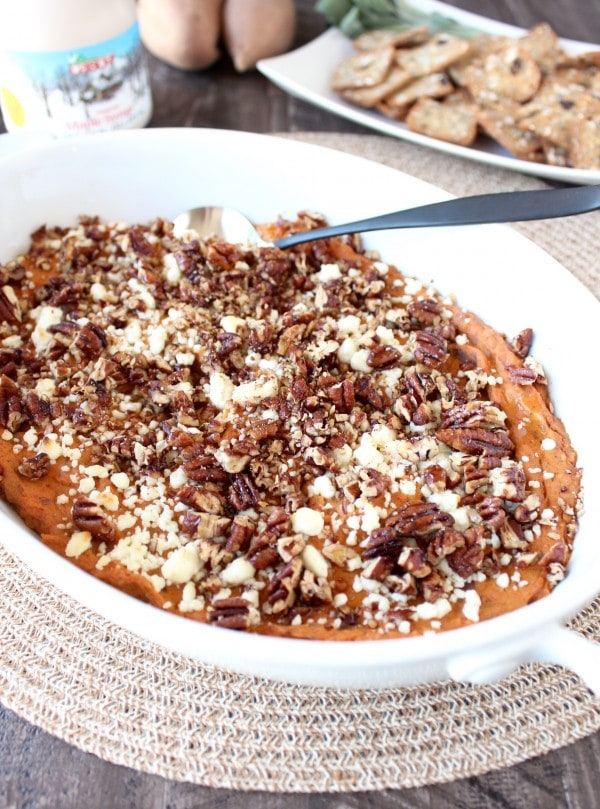 Creamy Baked Sweet Potato Dip Recipe