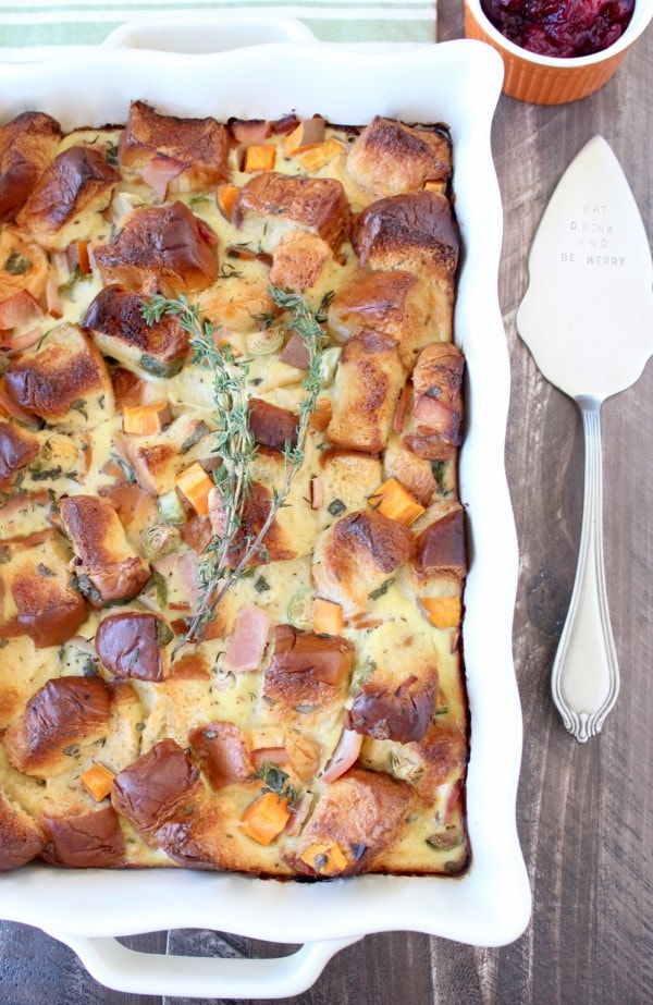 Thanksgiving Leftover Breakfast Casserole Recipe - WhitneyBond.com