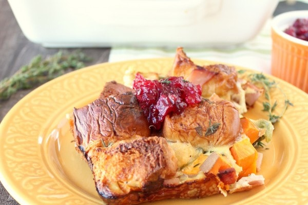 Thanksgiving Leftovers Breakfast Casserole Recipe