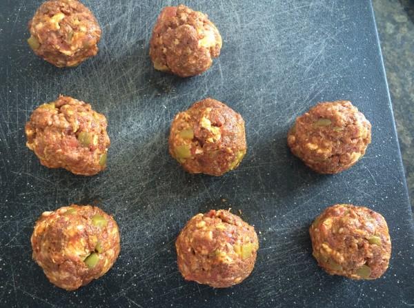 Cheesy Taco Sausage Balls Recipe
