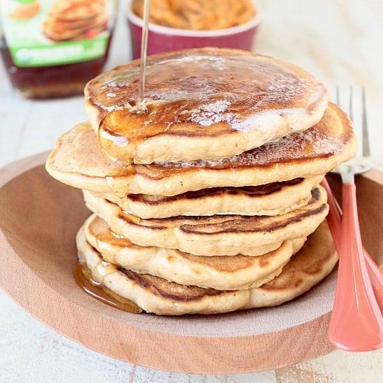 Sweetpotato Pancakes