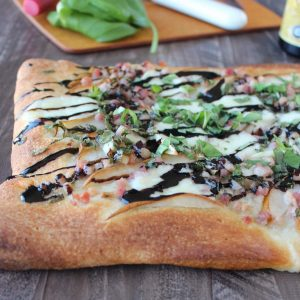 Pancetta Pear Pizza