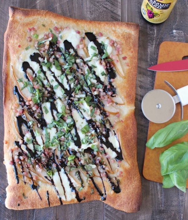 Pancetta Pear Pizza Recipe