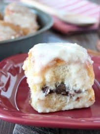 Nutella Cream Cheese Cinnamon Roll Recipe