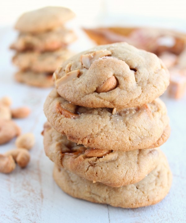 Salted Caramel Cashew Cookie Recipe
