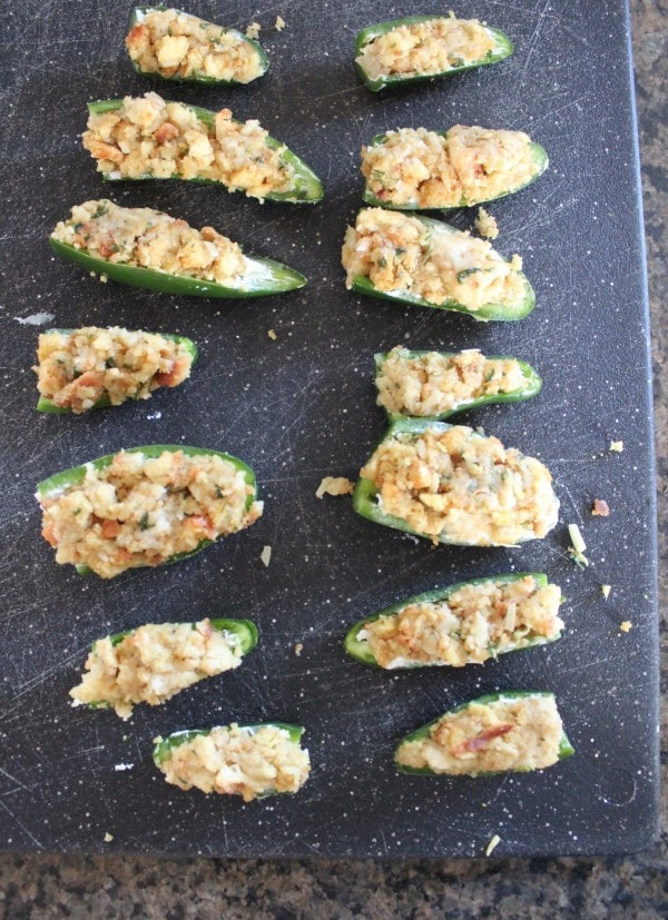 Cream Cheese Stuffing Jalapeno Poppers Recipe