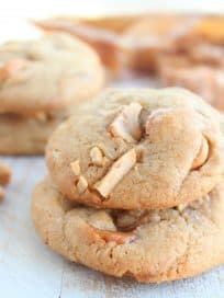 Salted Caramel Cashew Cookies Recipe