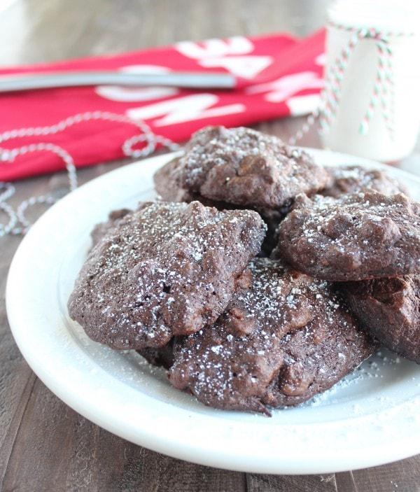 Double Chocolate Sweet Potato Cookies