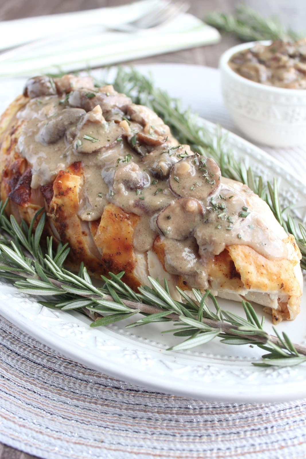 ... gravy recipe that's perfect on top of sliced roasted turkey breast