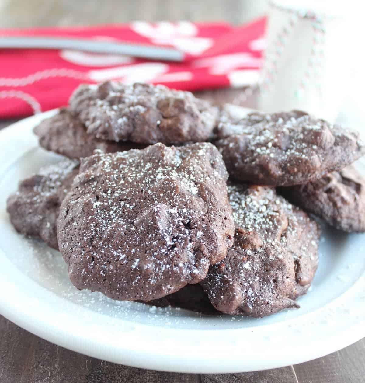 Sweetpotato Double Chocolate Cookies