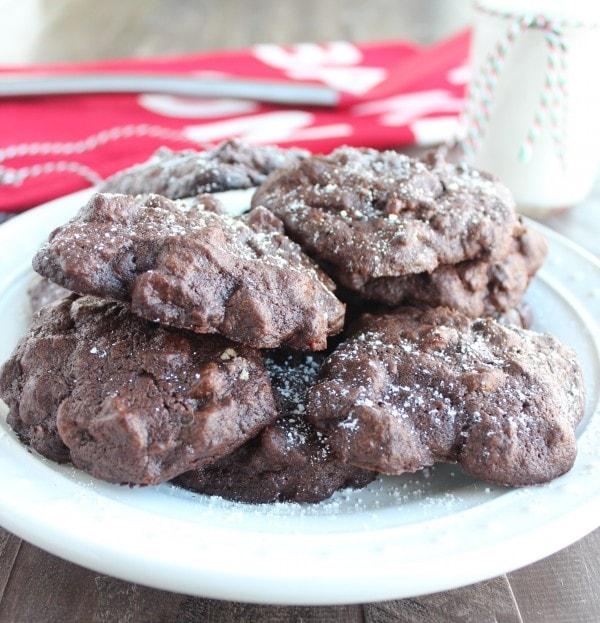 Sweet Potato Double Chocolate Cookies Recipe