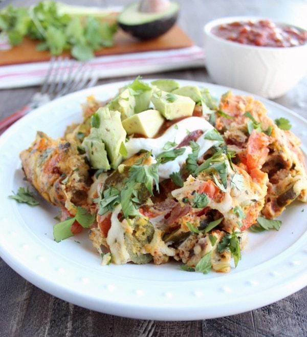 Slow Cooker Mexican Egg Casserole Recipe