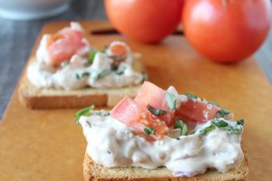Bruschetta Cheese Dip Recipe