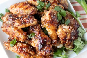 General Tso Chicken Wings Recipe