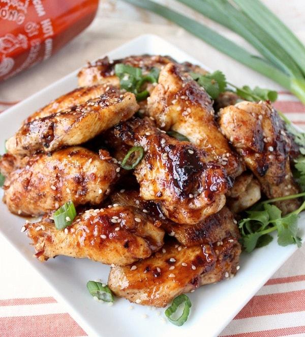 General Tso Chicken Wings Recipe