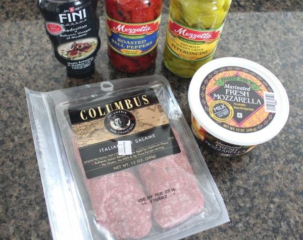 Antipasto Skewer Recipe Ingredients