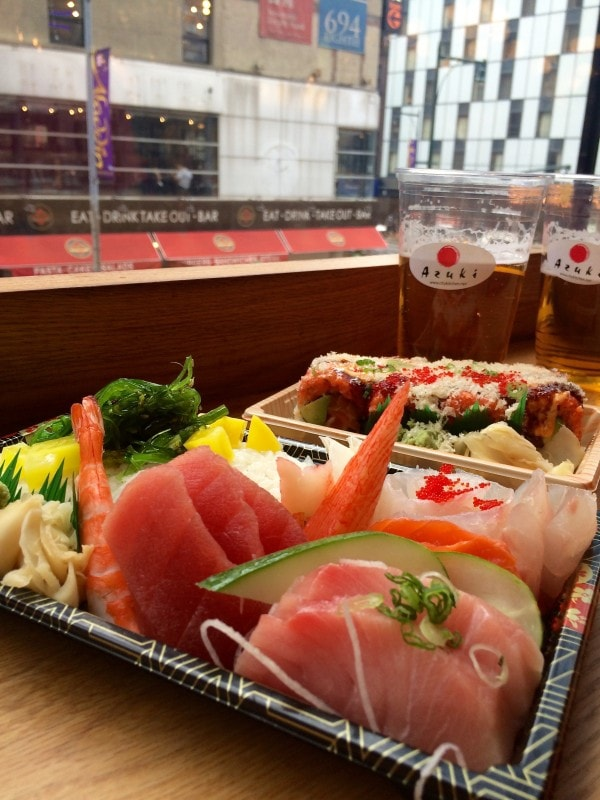 Azuki Sushi at City Kitchen NYC