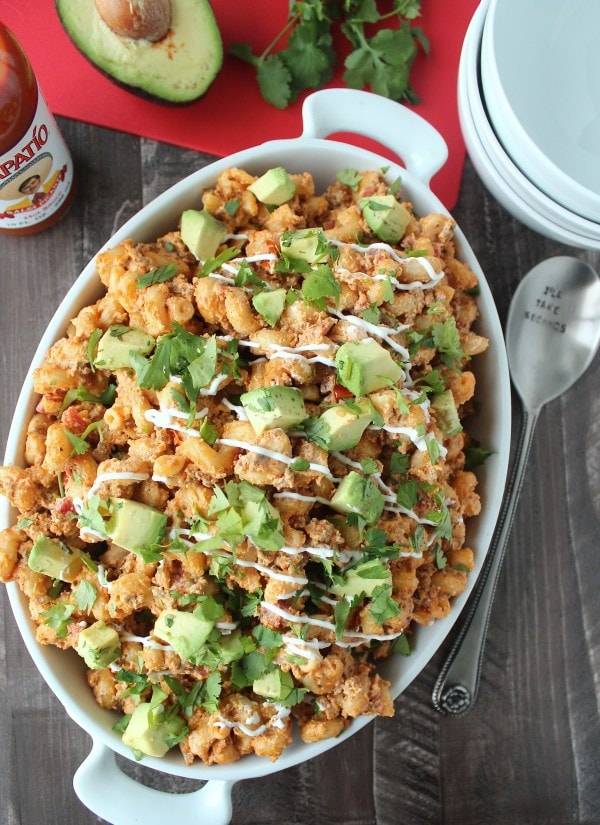 Slow Cooker Taco Mac and Cheese Recipe