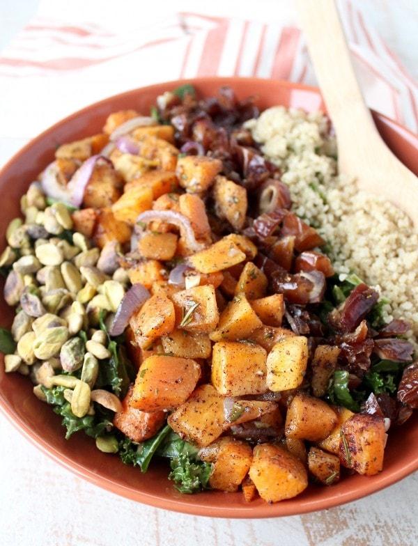 Butternut Squash Kale Salad Recipe