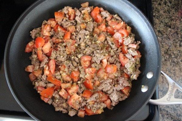 Turkey Sausage Breakfast Skillet Recipe