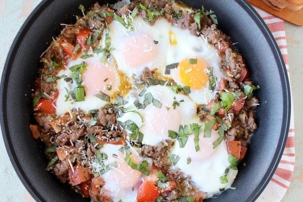 Turkey Sausage & Egg Breakfast Skillet Recipe