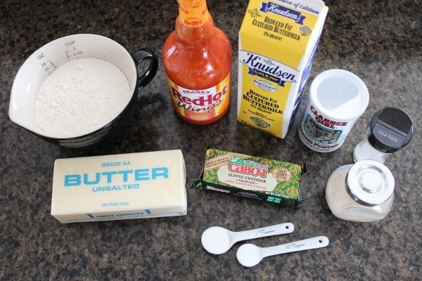 Buffalo Cheddar Biscuit Recipe Ingredients