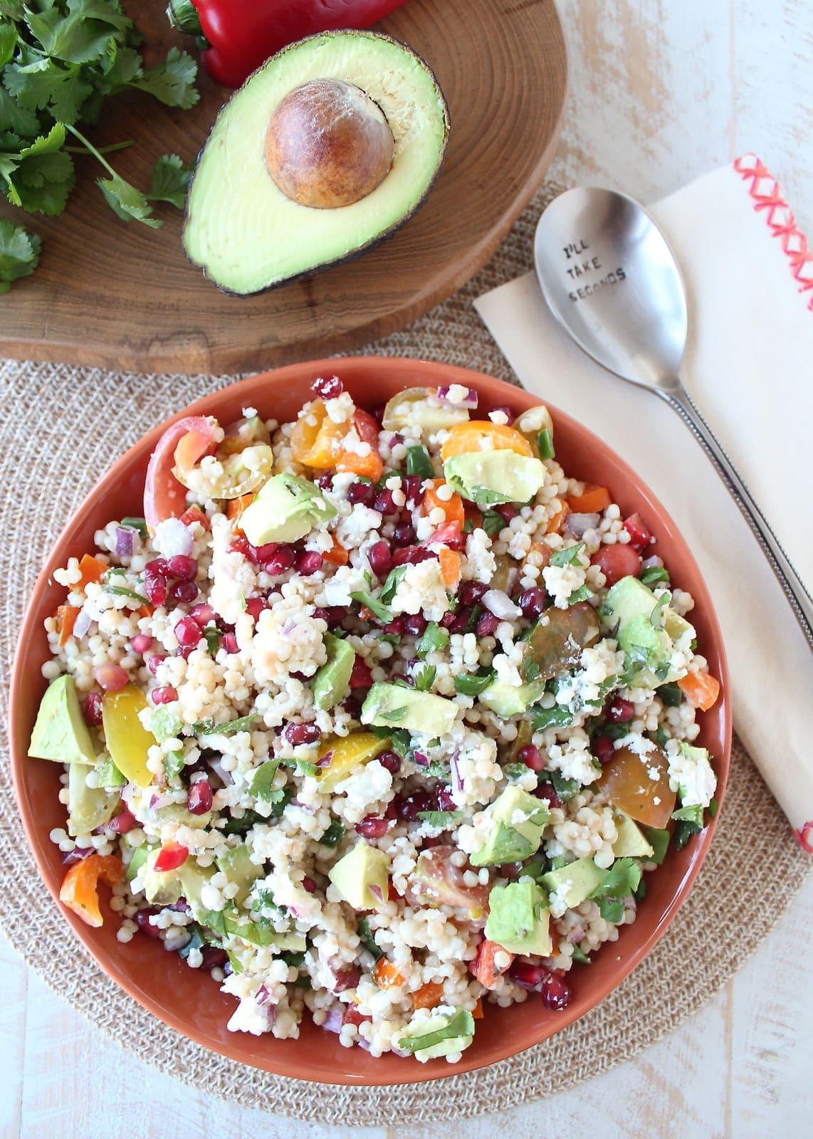 Israeli Couscous And California Avocado Salad Recipe ...