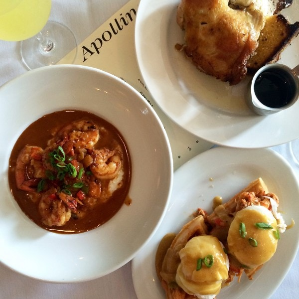 Brunch at Apolline New Orleans