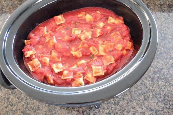 Slow Cooker Italian Meatballs & Marinara Recipe