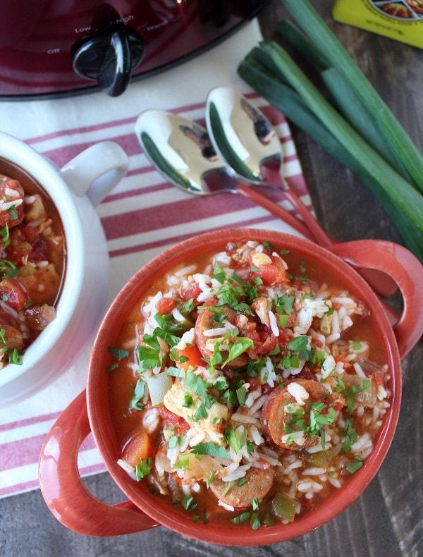Slow Cooker Spicy Jambalaya Recipe