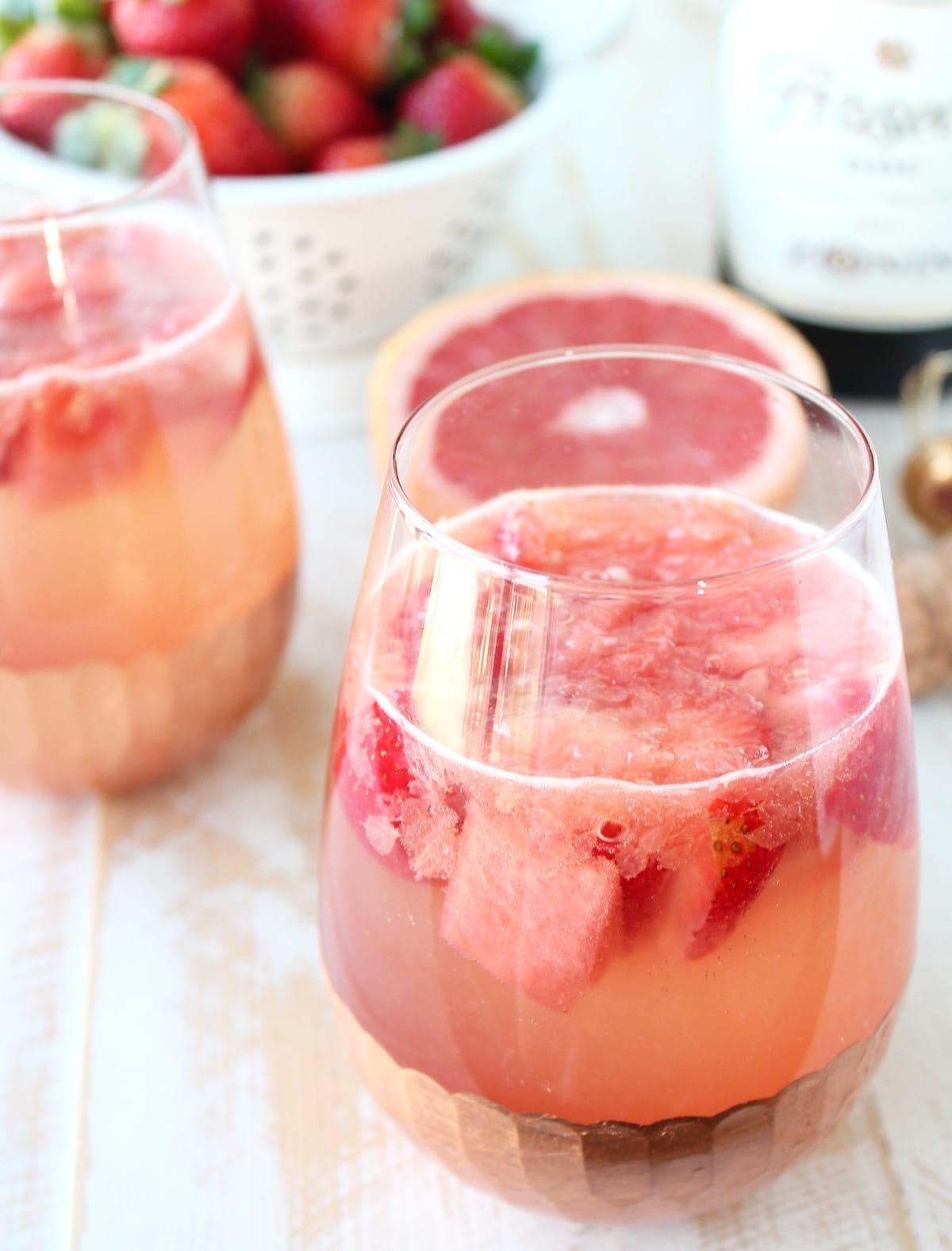 Sparkling Grapefruit Watermelon Sangria
