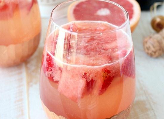 Sparkling Grapefruit Watermelon Sangria Recipe