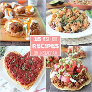 15 Most Liked Recipes On Instagram