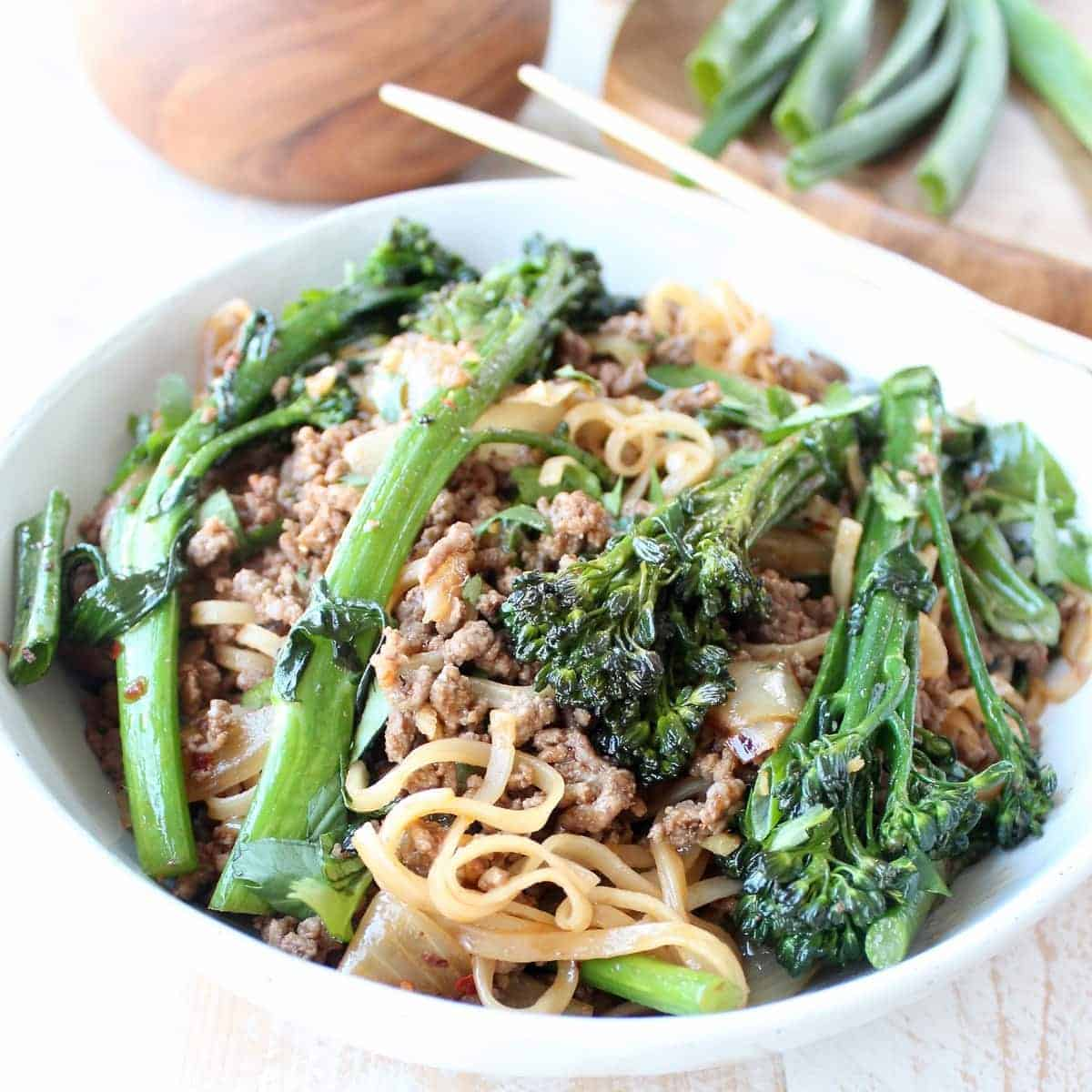 Beef and Broccoli Stir Fry Recipe - WhitneyBond.com