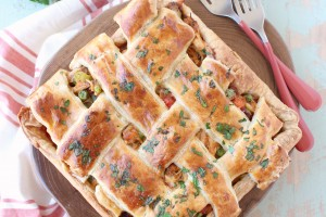 Cajun Chicken Pot Pie Recipe
