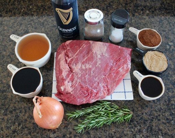 Coffee Guinness Brisket Recipe Ingredients