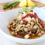 Greek Zucchini Noodles Recipe