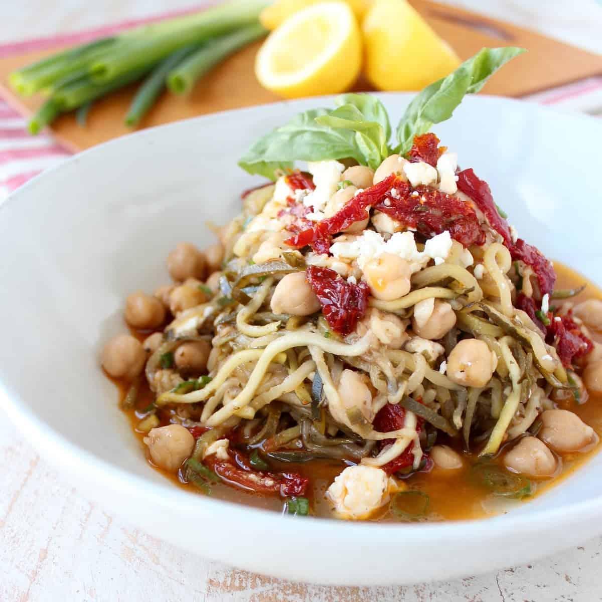 Greek Zucchini Noodles